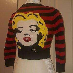 Betsey Johnson Sweaters - Betsey Johnson Marilyn Monroe sweater
